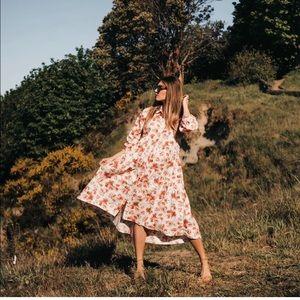 GORGEOUS ZARA NWT Floral Print Dress